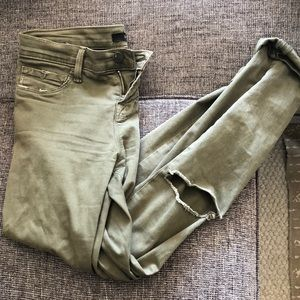 J Brand JUNGLE olive pants